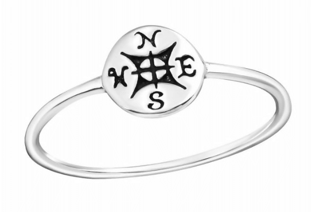personalized bracelet - compass